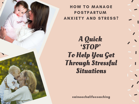 How to Manage Postpartum Anxiety and Stress?