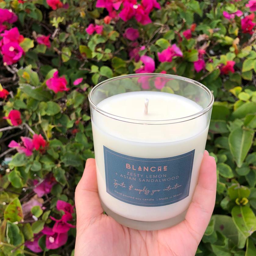 Buena Vista Blanche Candle