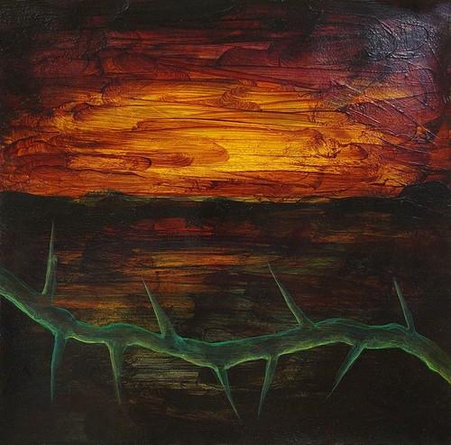 Landscape W/ Thorns III