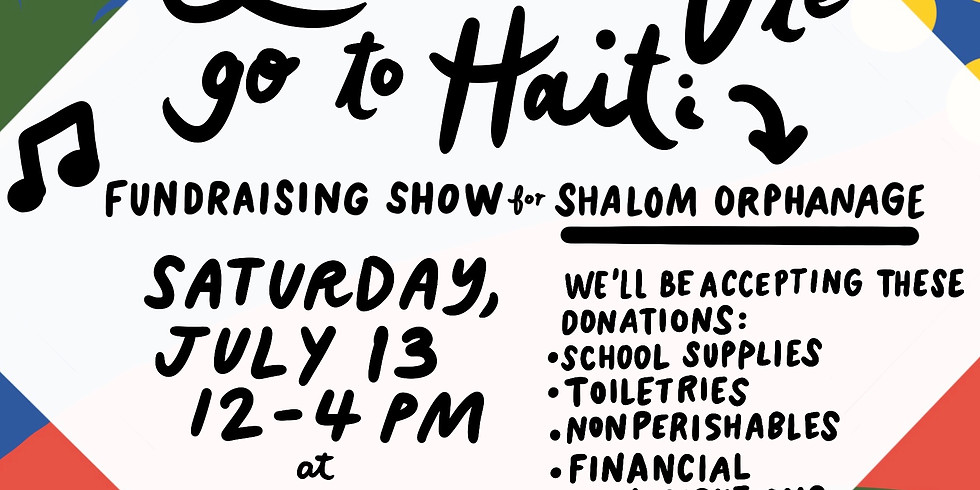 Fundraising Show: Leesa and La Vie Go to Haiti!