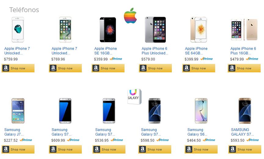 Amazon garantiza todas tus compras.