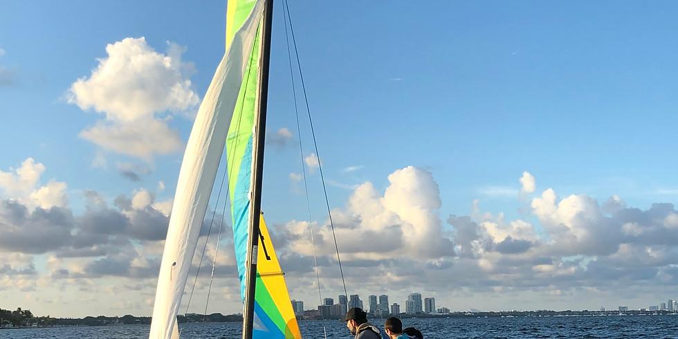Sunset Sail on Biscayne Bay