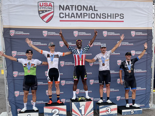 Gold, Silver and Podiums for Interface Athletes @ Masters Nats - race report from m45-49 criterium