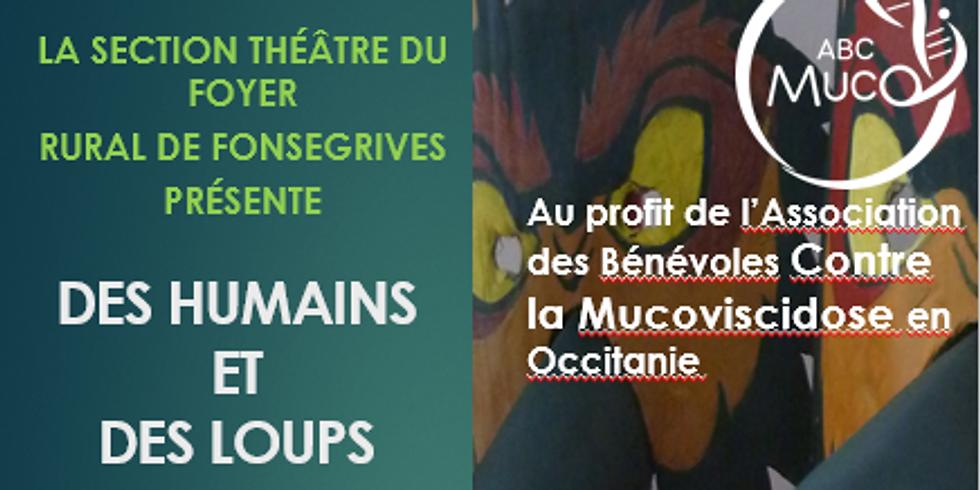 Section Théâtre du Foyer Rural de Fonsegrives - Des Humains et des Loups