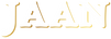 Jaan Logo White with Gold Outline.png
