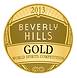 Gold Award at the 2013 World Spirits Competition in Beverly Hills