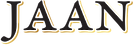 Jaan Logo Black with Gold Outline.png