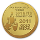 Gold Medal at the 2011 San Francisco World Spirits Competition