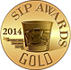 Gold Medal at the 2014 SIP Awards