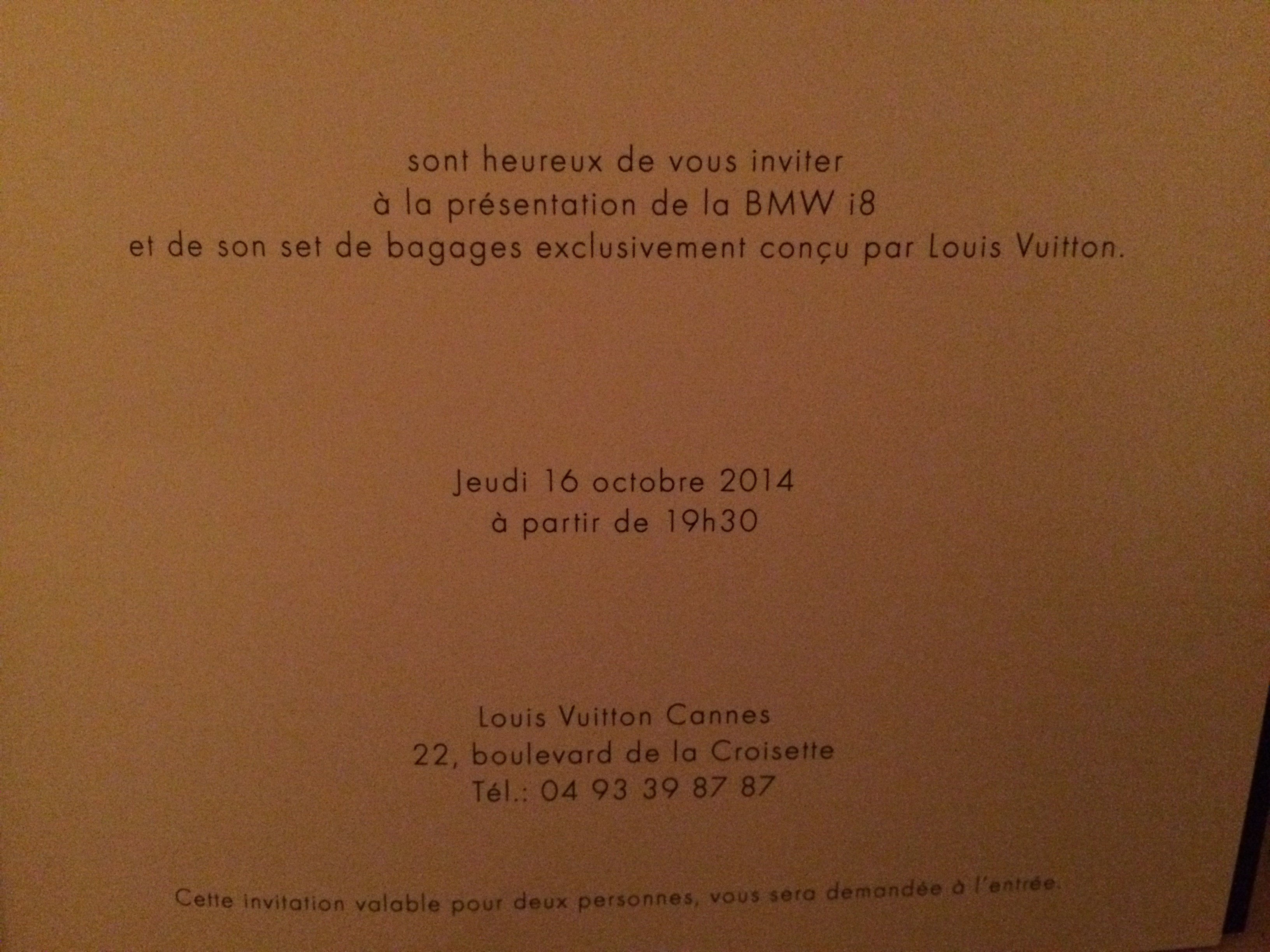 Louis Vutton BMW i8 launch