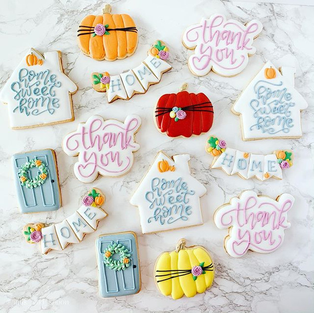 Beautiful cookies are the best way to sa
