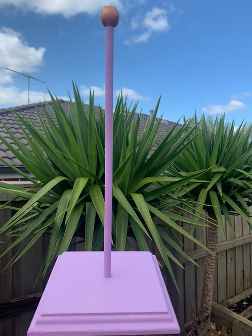 Purple Scrunchie Stand