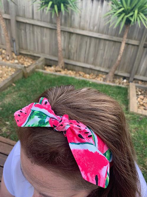 Bright Watermelon Adjustable Headband