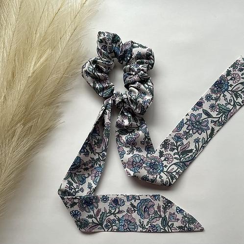 Light Floral Long Tie