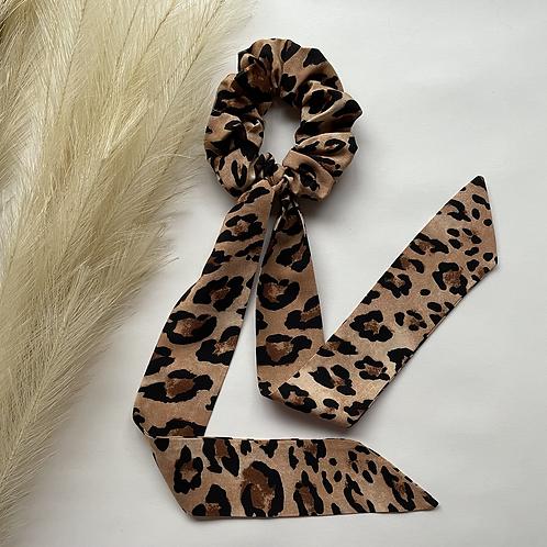 Leopard Long Tie