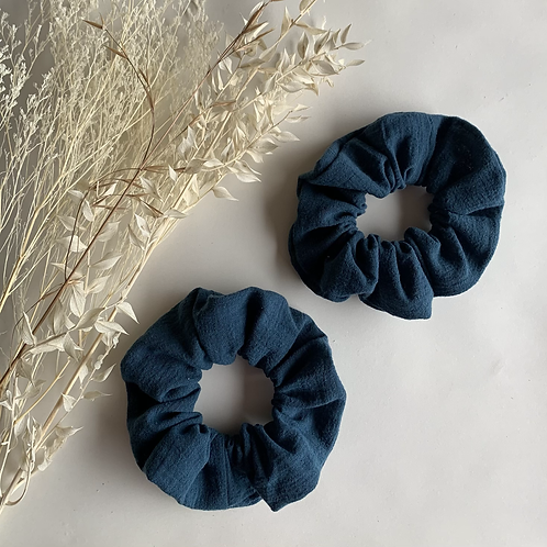 Navy Cheesecloth