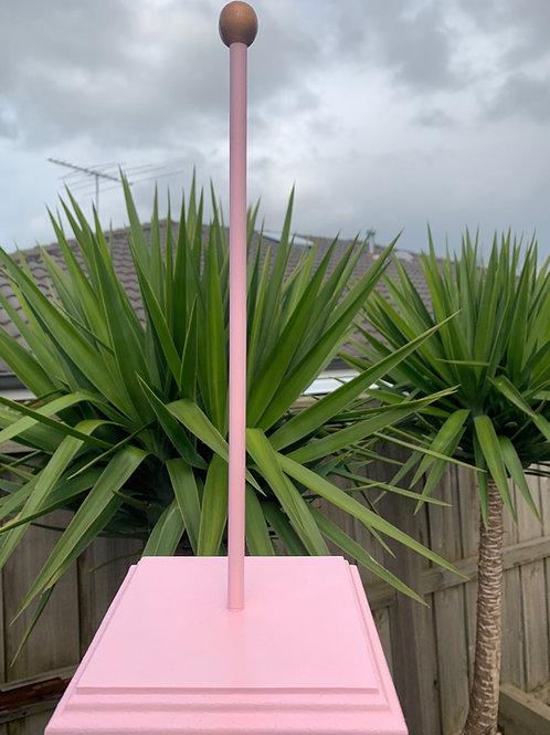 Pink Scrunchie Stand