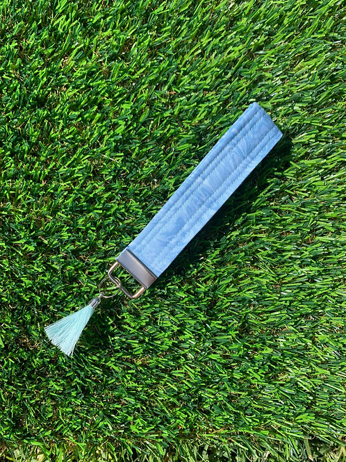 Blue Marble Keychain