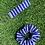 Thumbnail: Blue Strip Keychain