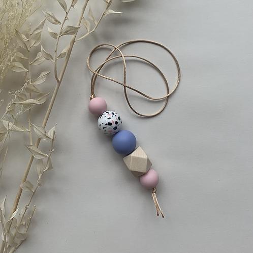 Pastel Terrazzo Hanging Keychain