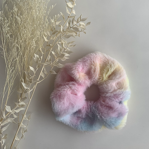 Jumbo Fluffy Pastel Tye Dye