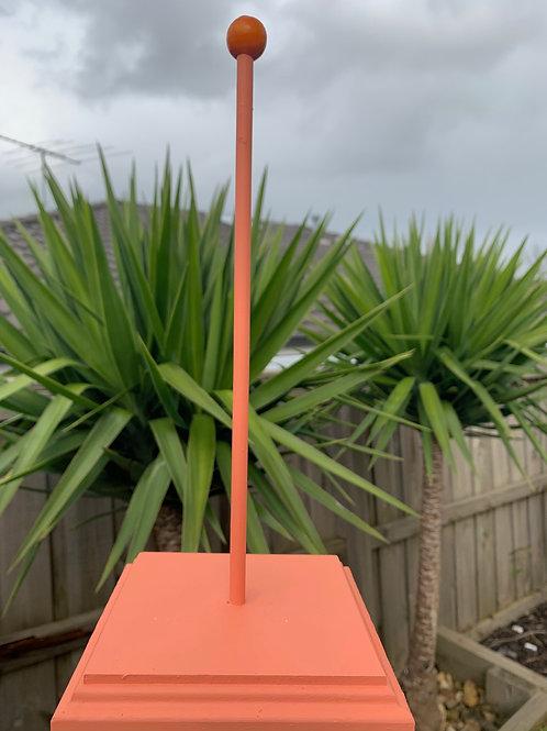 Bright Orange Scrunchie Stand