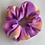 Thumbnail: Purple and Orange Fluffy Tye Dye