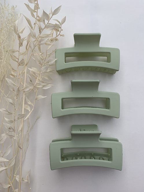 Light Green Hair Clip