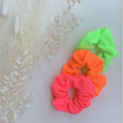 Neon Coloured Scrunchies