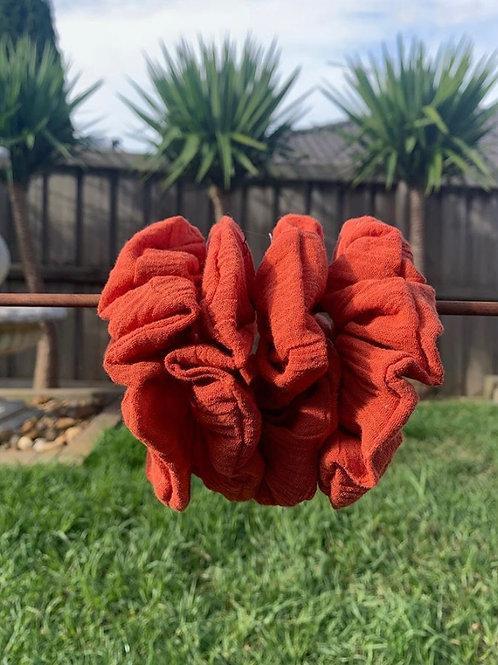 Burnt Orange Cheesecloth