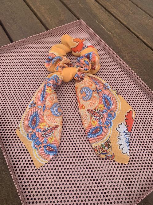 Oriental Scarf Scrunchie