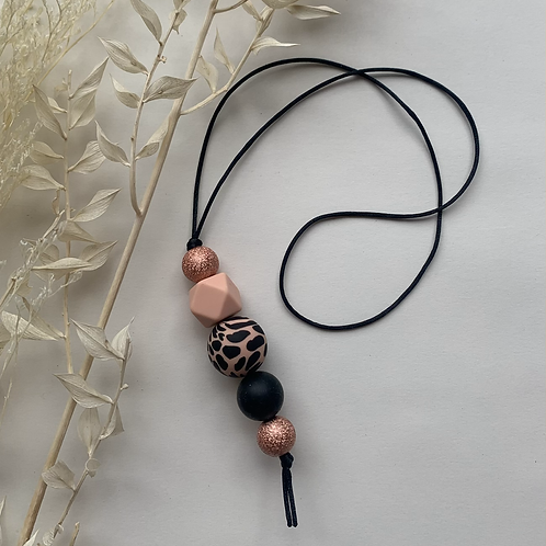 Rose Gold Hanging Keychain