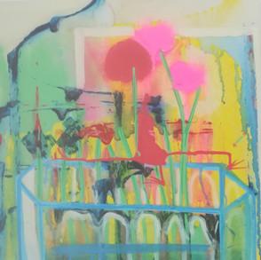 View through vase. 2018. Sold.