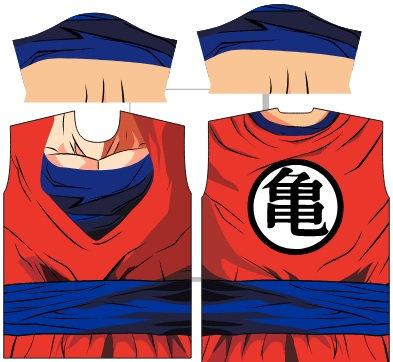 Camisa de Compressão Goku