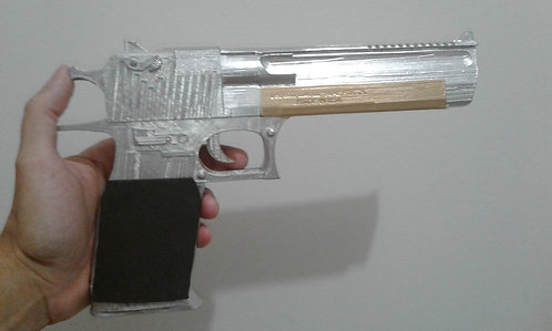 Arma / Pistola cosplay Vários modelos