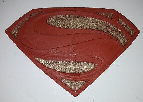 Simbolo Superman, peitoral, emborrachadas