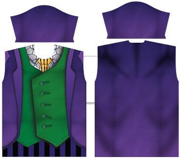 Camisa de Compressão Coringa - Modelos