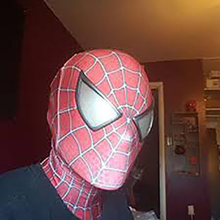 Faceshell Spiderman - Trilogia Tobey Maguire