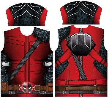 Camisa Compressão Deadpool