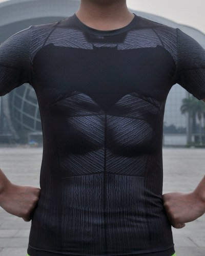 Camisa de Compressão Batman Down of Justice