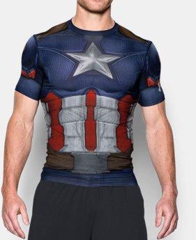 Camisa de Compressão Capitão America Modelos