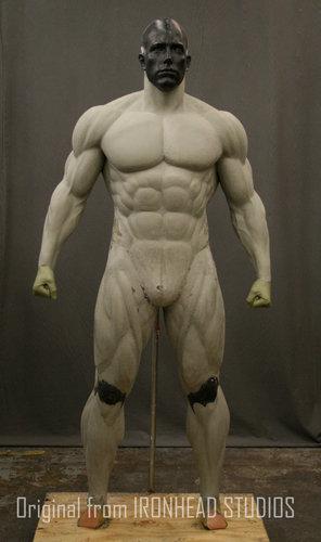 Base de Músculos para uso sobre a fantasia em Uretano