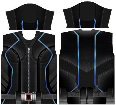 Camisa de Compressão Viuva Negra