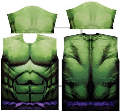 Camisa de Compressão Hulk