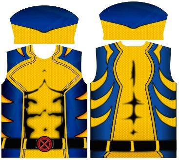Camisa de Compressão Wolverine Desenho