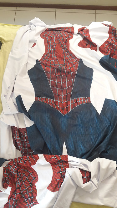 Traje sublimado Fantasia Spider Man - Tobey Maguire