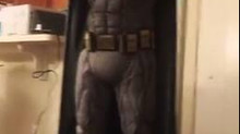 Fantasia Batman Justice League, com base de musculos!!