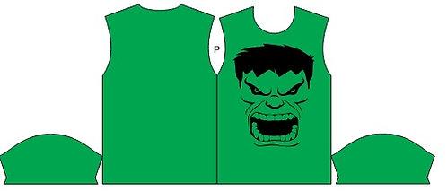 Camisa de Compressão Estampa hulk