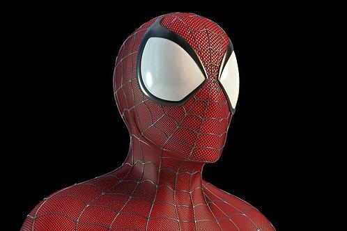 Faceshell Spiderman - Classico anos 80