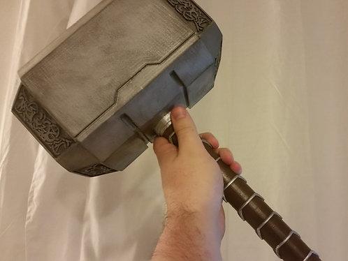 Martelo Thor - Mjolnir - com Stand Base